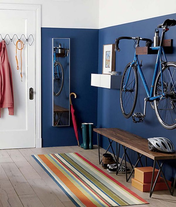 Stylish bike storage options