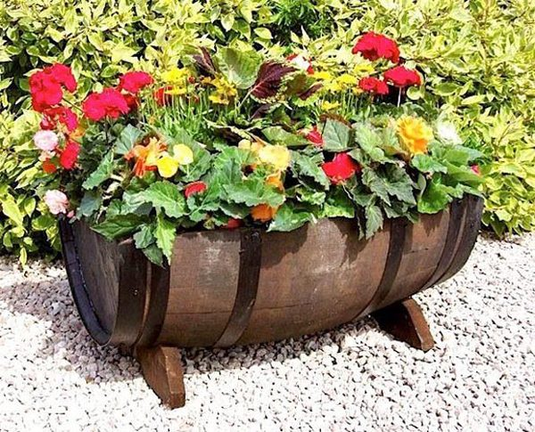 wine barrel platter
