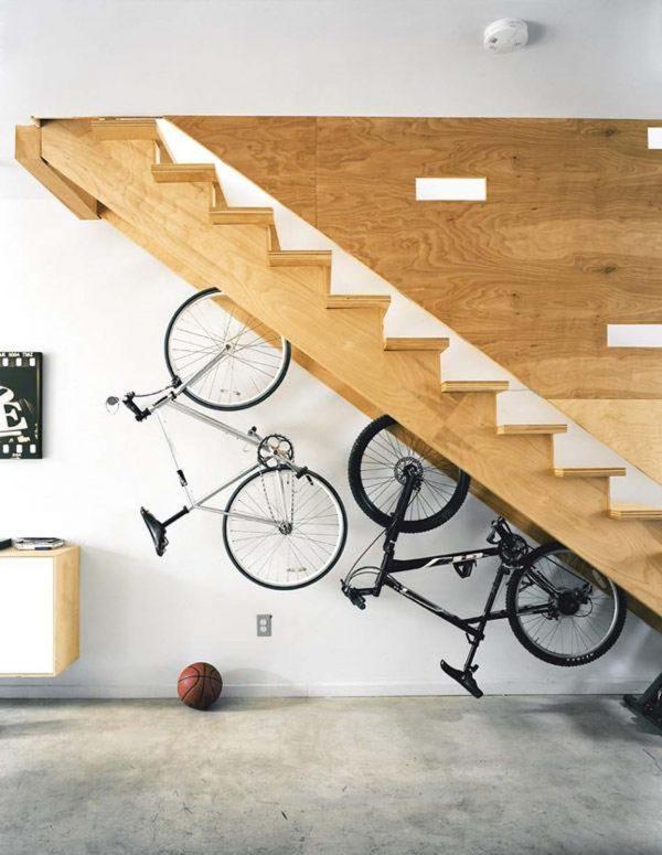 indoor bike rack ideas