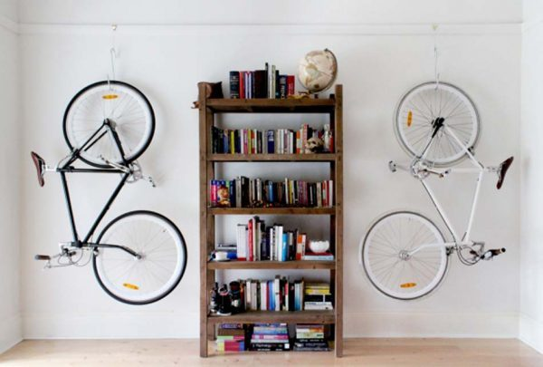 secure bike storage at home
