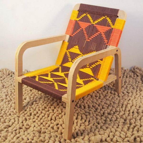 Diy knitted chair - Little Piece Of Me