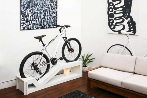 bike rack for home storage