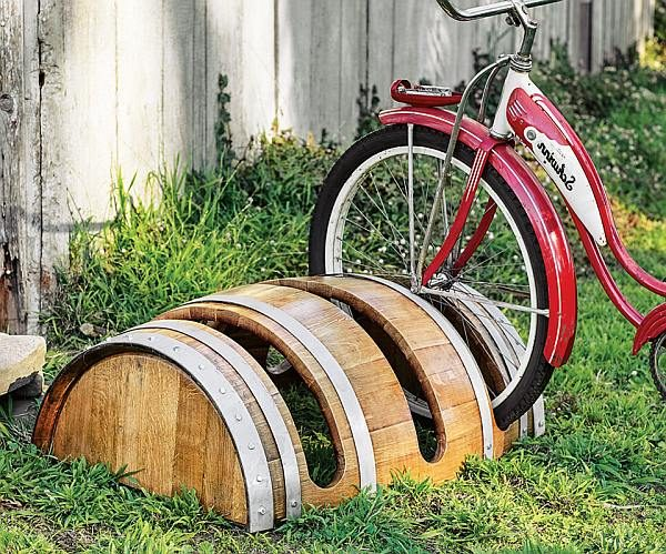 recycled barrel