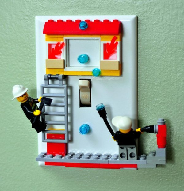 light switch decorations