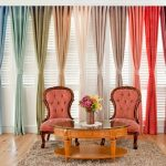 Choose curtains that will give freshness to the home