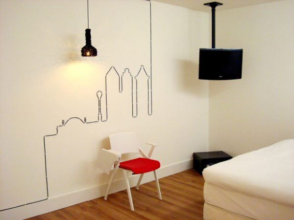 why to hide cables transform them into beautiful wall art little piece of me. Black Bedroom Furniture Sets. Home Design Ideas