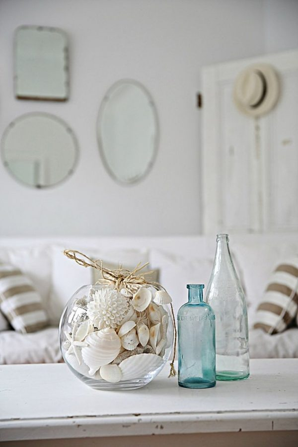 seashell home decor