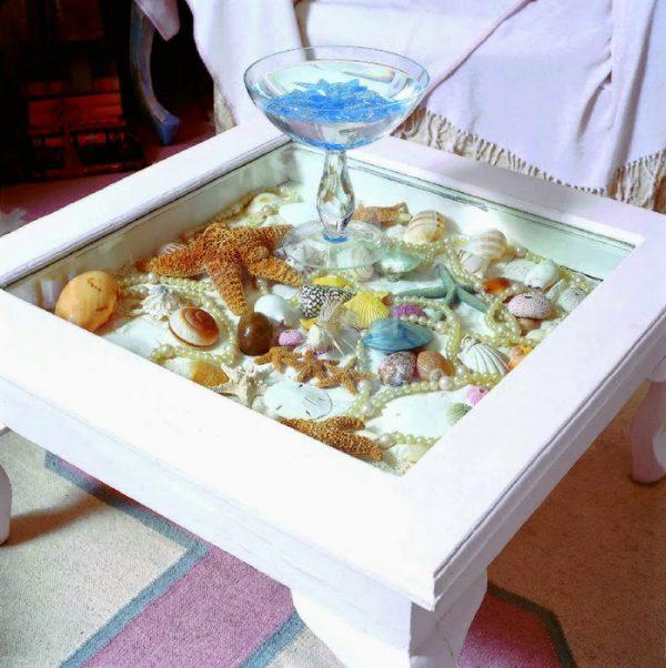 ways to display shells
