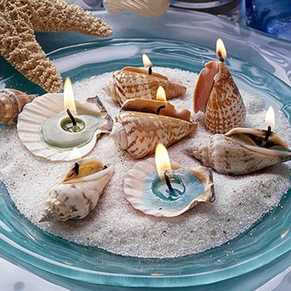 seashell centerpieces for tables