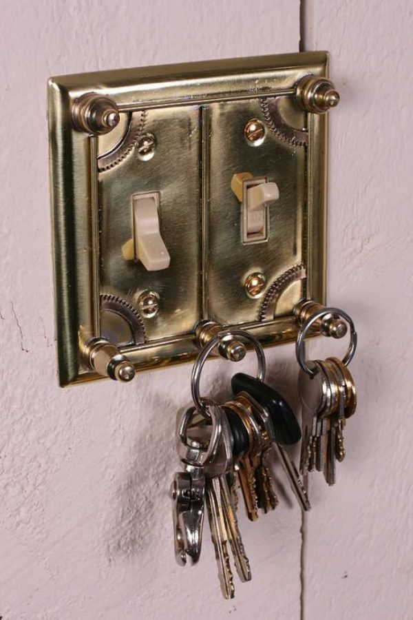 steampunk light switch cover