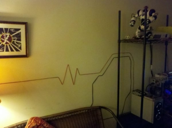 Why To Hide Cables Transform Them Into Beautiful Wall