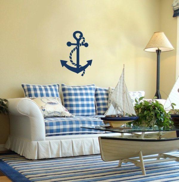 beach themed living room design