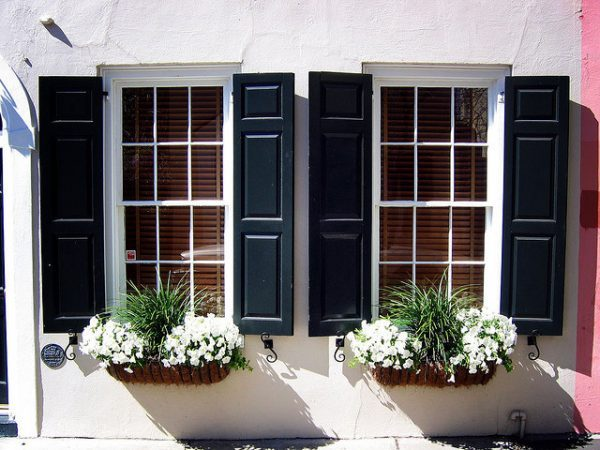 outdoor window boxes
