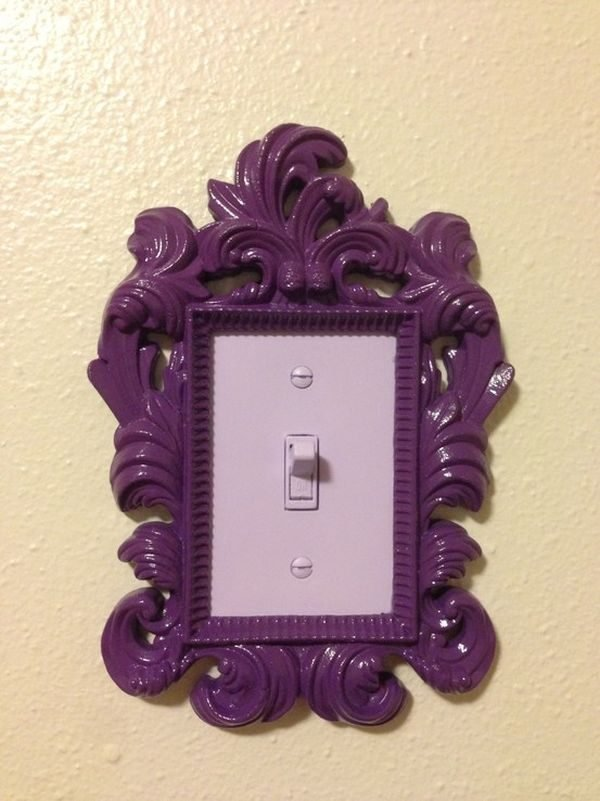 picture frame light switch
