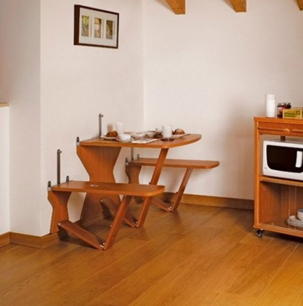 folding wall tables for kitchens
