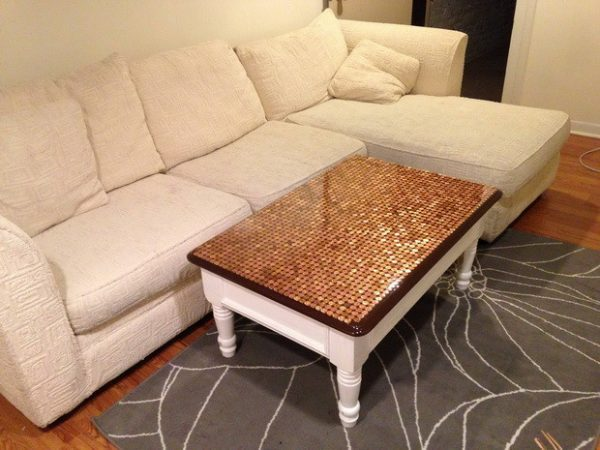 penny table diy