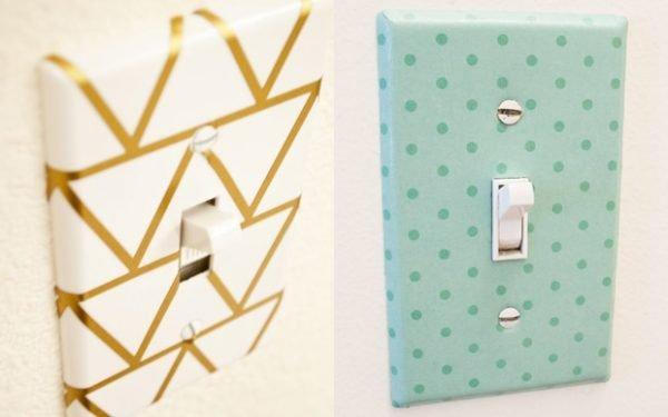 decorative light switch wall plates