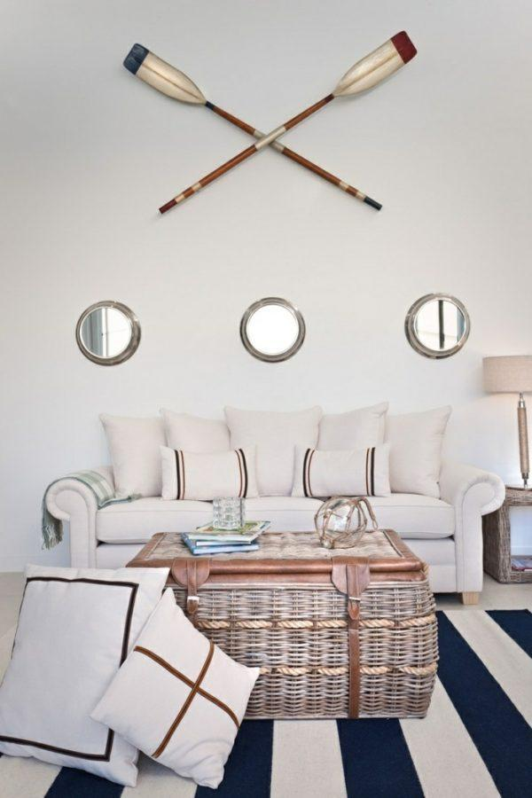 beach themed living room decor