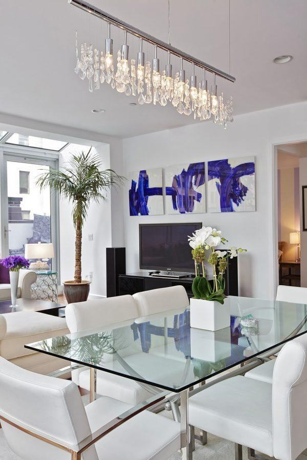 modern dining room decorating ideas