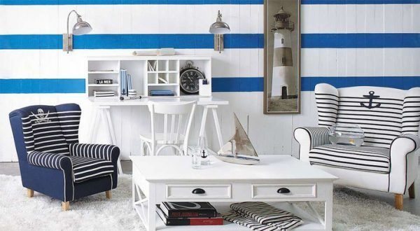 Beach style living room ideas - Little Piece Of Me