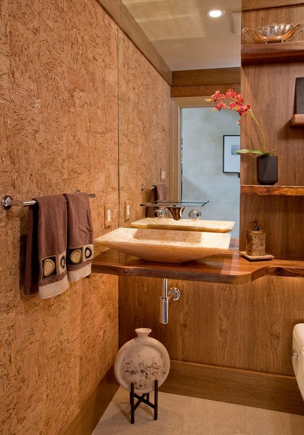 image credit cork flats - Cork Bathroom Interior