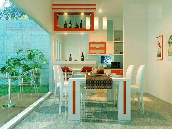 house and home dining room
