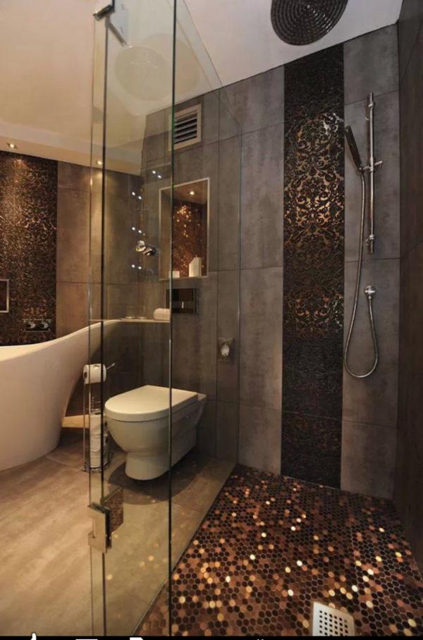 penny shower floor