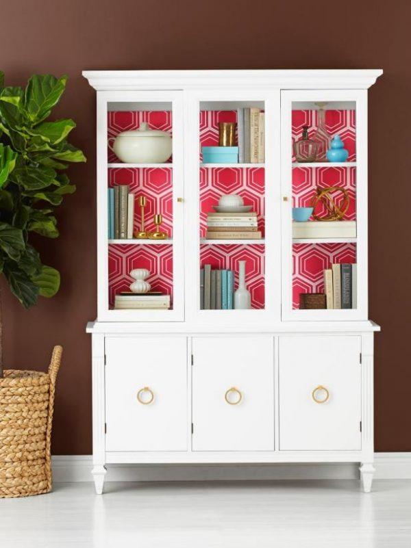 shabby chic bookcase white