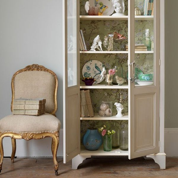 shabby chic bookcase