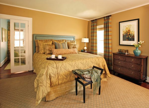 10 bedroom designs in earth tones little piece of me Master bedroom with yellow walls