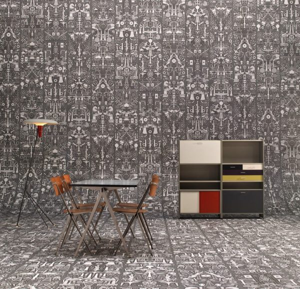 wallpaper decoration for living room