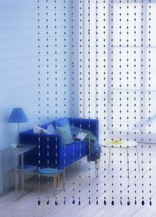 Image Credit Beaded Curtain Panels