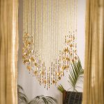 Beaded curtains – add a charming feature in your home