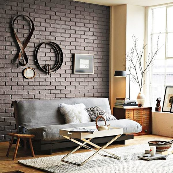 black-brick-wall-in-stylish-living-room