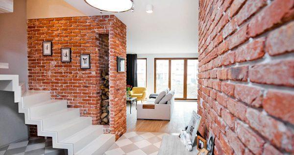 Brick wallInterior Design