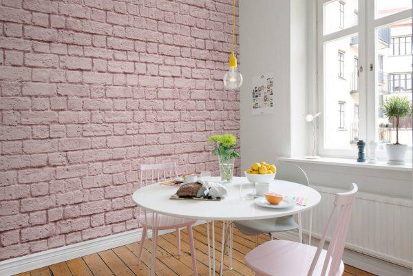 Brick wall design paint