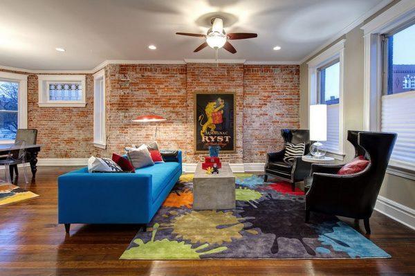 interior brick wall design