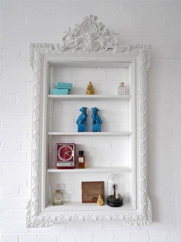 wall decoration with frames