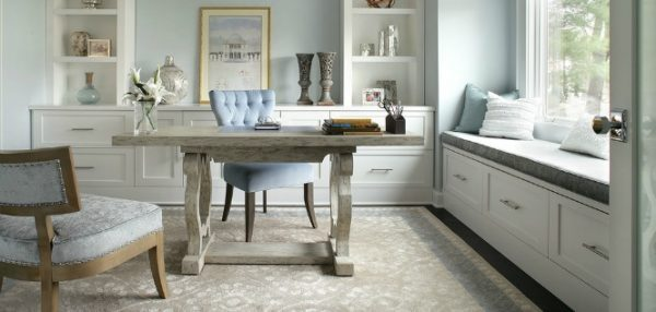 Shabby Chic Home Office 1