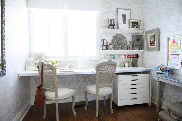 shabby chic home office little piece of me. Black Bedroom Furniture Sets. Home Design Ideas