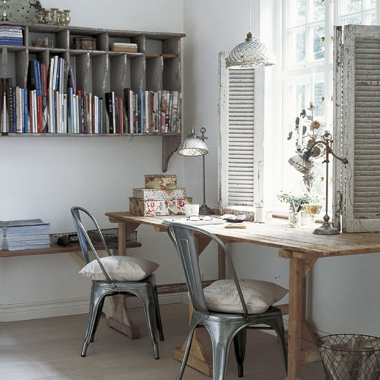 Shabby Chic Home Office