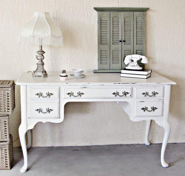 21 Shabby Chic Home Office Designs Decorating Ideas: Shabby Chic Home Office