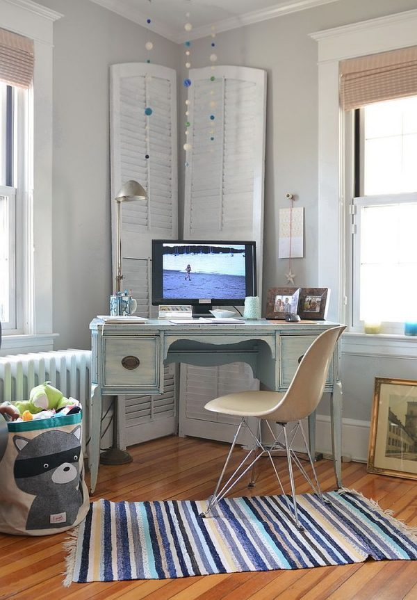 Shabby Chic Home Office 9