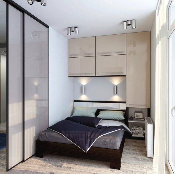 ideas for small spaces bedroom