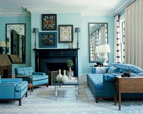 Turquoise living room decor littlepieceofme for Living room ideas with turquoise