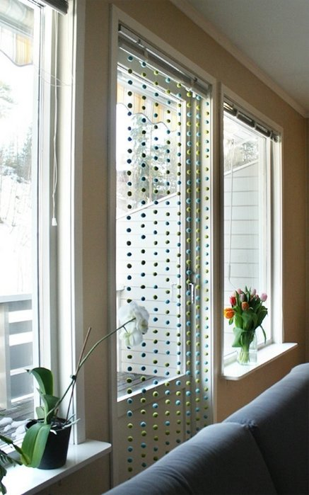 window-bead-curtains