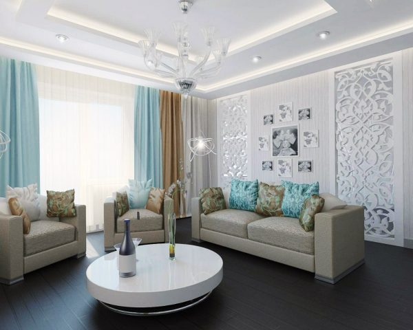 brown-and-blue-living-room