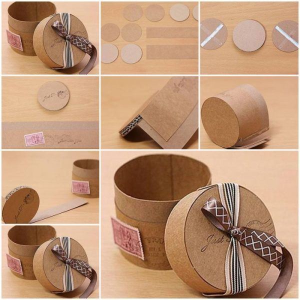 How to make a small gift box little piece of me cardboard gift boxes negle Images