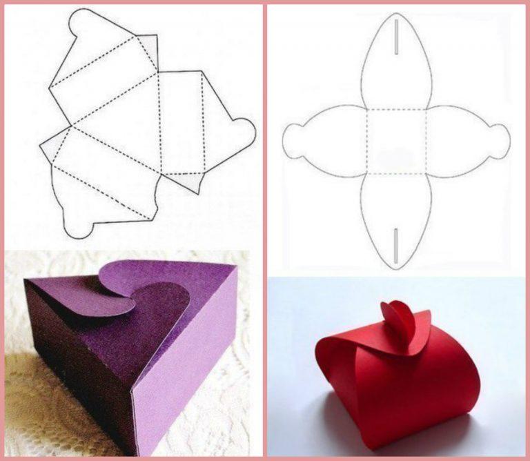 Как сделать маленькие коробочки своими руками для подарка