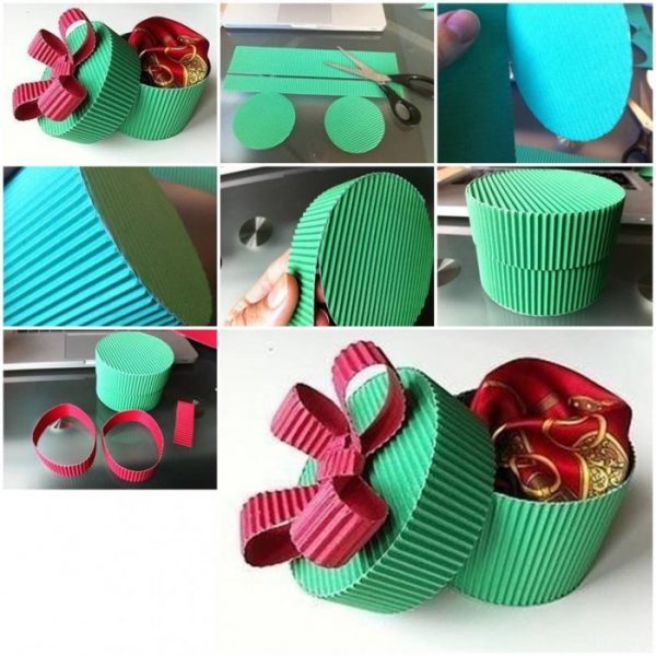 How to make a small gift box little piece of me image credit how to make a small gift box negle Image collections